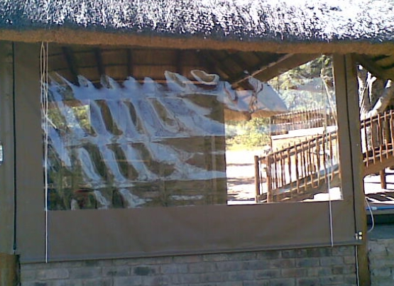 PVC Outdoor Blinds Cape Town