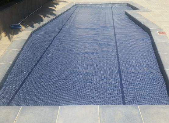 Solar Pool Bubble Cover: West-Coast