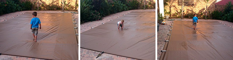 PVC Safe Pool Cover Cape Town
